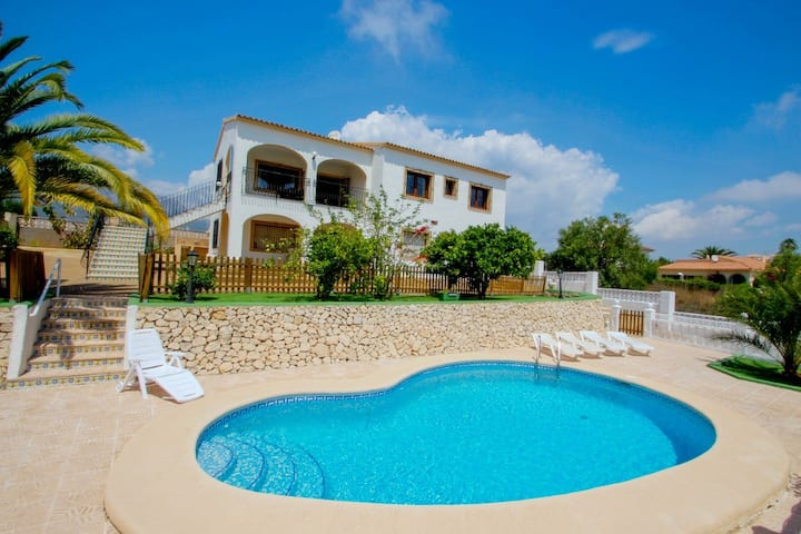 Juanjo - this lovely detached holiday property in Calpe