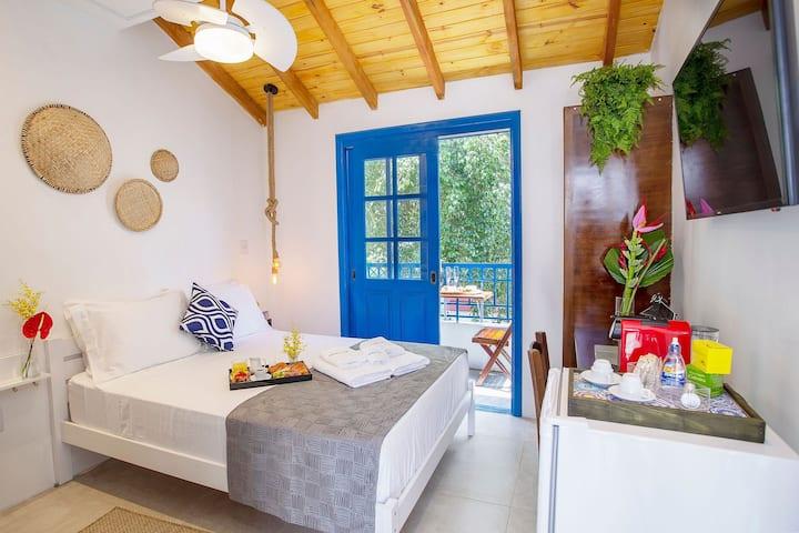 Studio Charmoso estilo Grego ótima localização 23