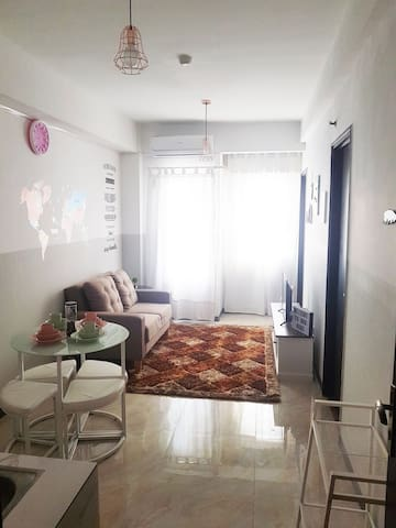 Cozy 2 BR Apartment in WEST JAKARTA, NEW interior!