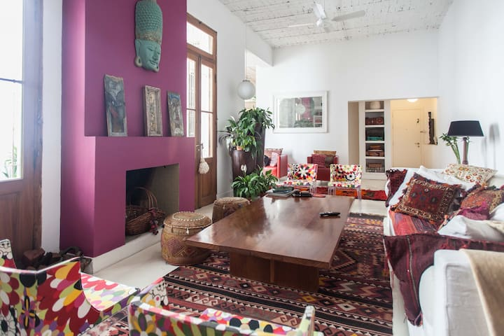 Palermo Hollywood+Terraced gardens - Buenos Aires - Loft