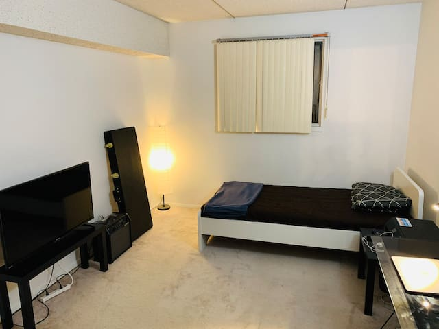 Single Room. Close to restaurants, bus-stops, UofM