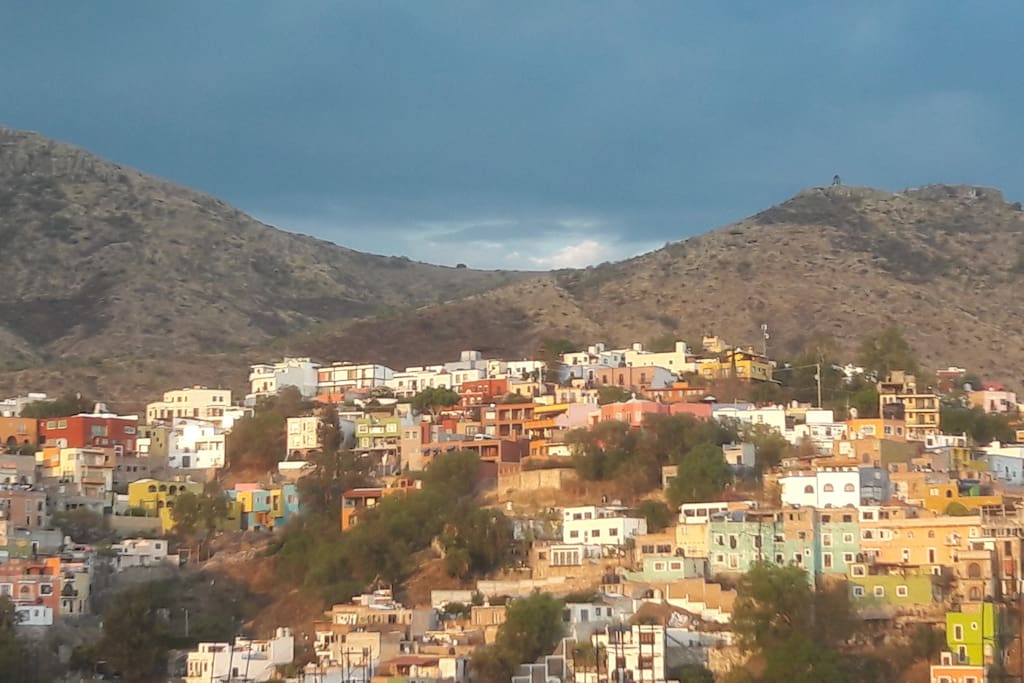 View from the terrace (vista desde la terraza)