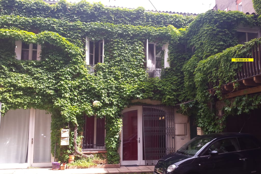 typical Toulouse's house