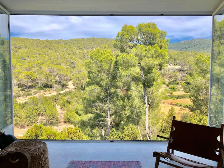 Ibiza Apt. 4 pers./ nature view/ 200m to the beach