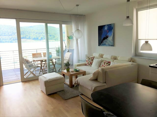 Great Hide-Away directly on the lake - Schiefling am See - Apartamento
