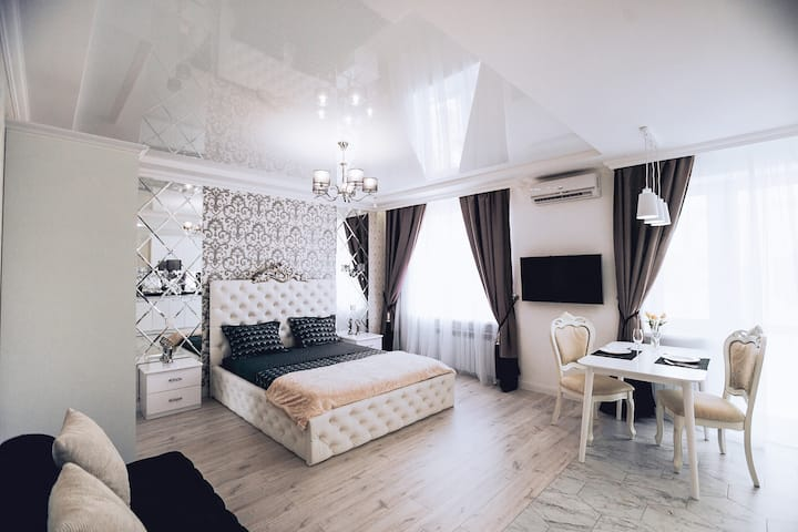 Luxury mirror apartment
