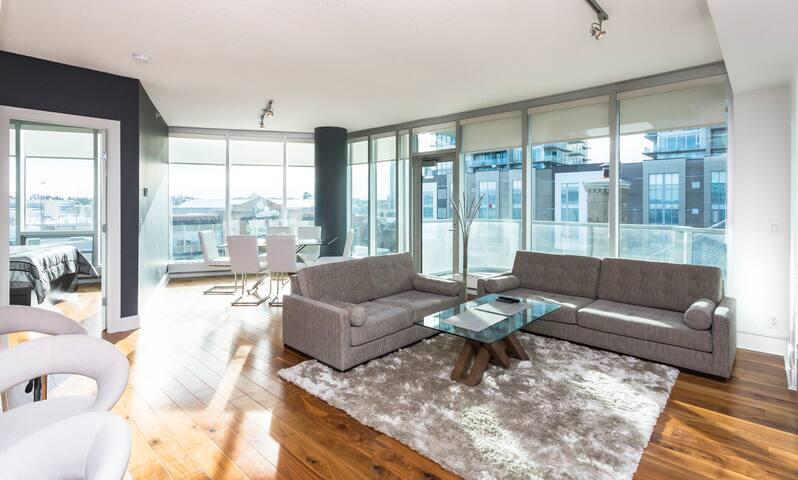 Arriva - Calgary - Lägenhet