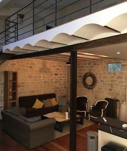 Charmant loft 80 m2 en plein centre- ville - Fontenay-aux-Roses