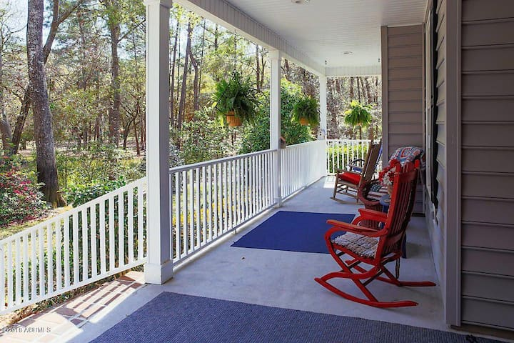 Front porch to sit and relax on