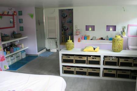 suite parentale avec accès privé - Les Pavillons-sous-Bois - Haus