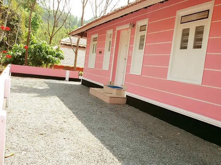 2 bedroom resort cottage with kitchen  in wayanad