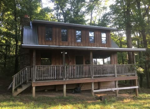 The Clay's Cabin in the Ozarks