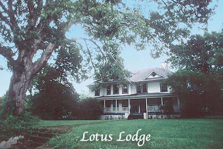 Lotus Lodge, 15 min fr AVL. - Candler - Huis