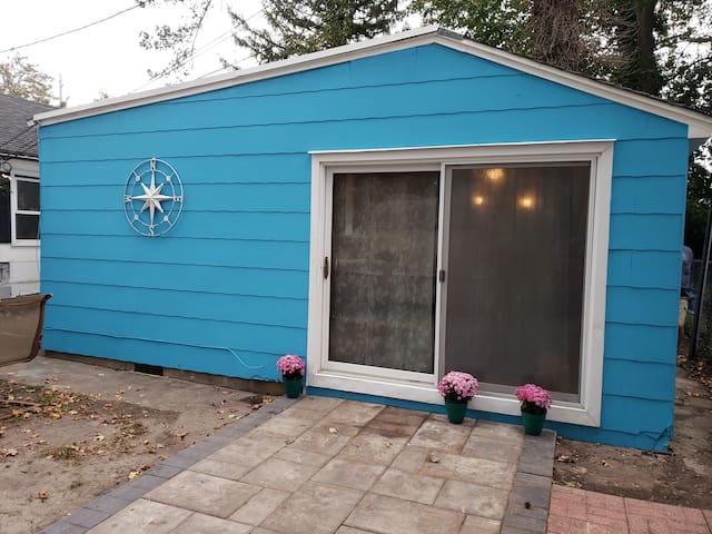 Quiet 500sf Private Cottage in Belmar Kids & Pets