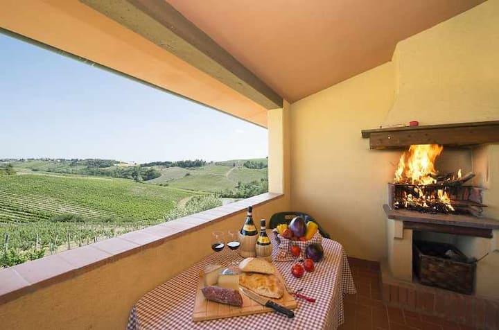 Self catering apartment (sleep 5) in Chianti