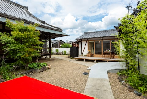 450 y old Temple BBQ Garden → Todaiji & Nara Park
