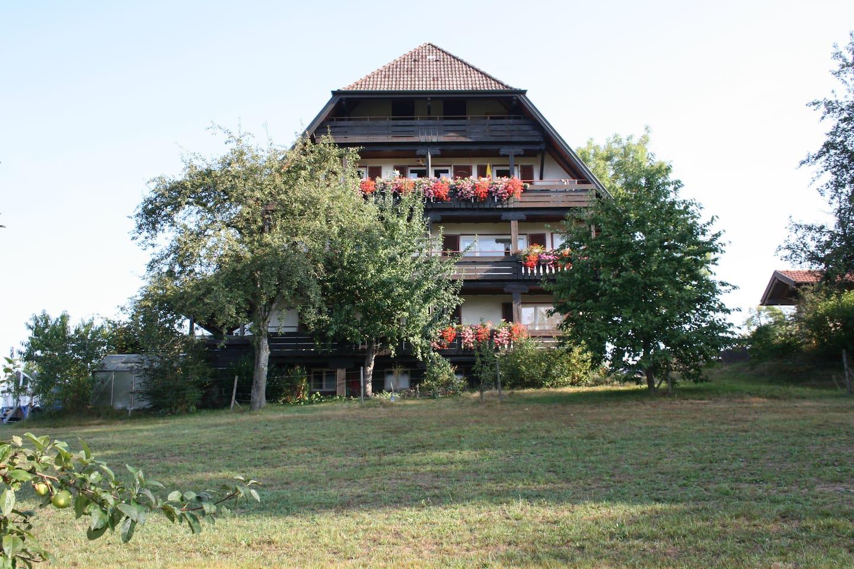 Ferienwohnung   mit Südbalkon