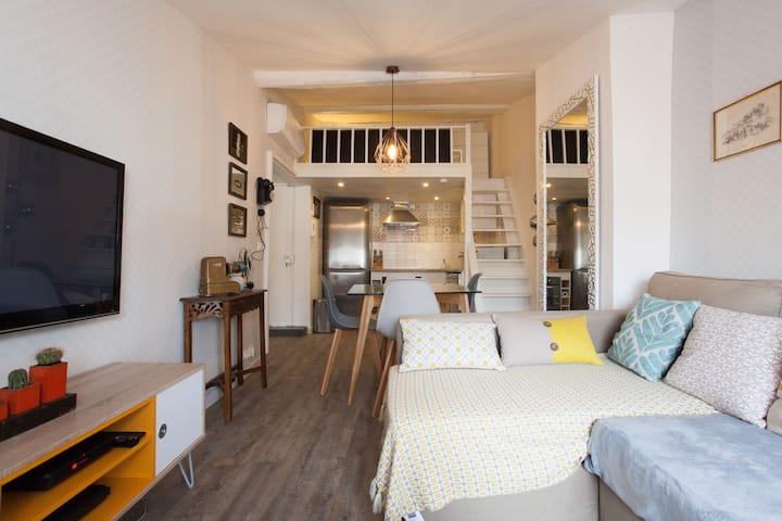 Appartement dans le centre historique de Cannes.