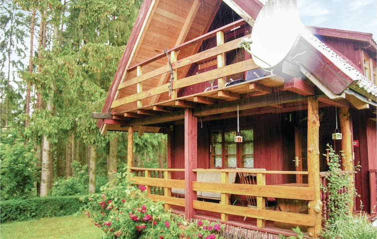 Holiday cottage with 2 bedrooms on 106m² in Lidzbark Warminski