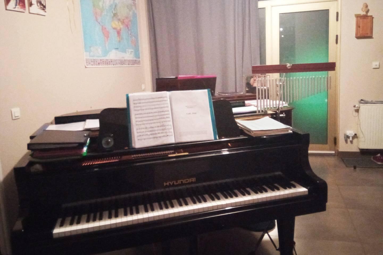 Chambre privée dans appartement de standing, idéal pour voyageurs, artistes ou musiciens !