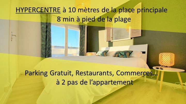 Calais Center - 4 guest - 40m² Brand New