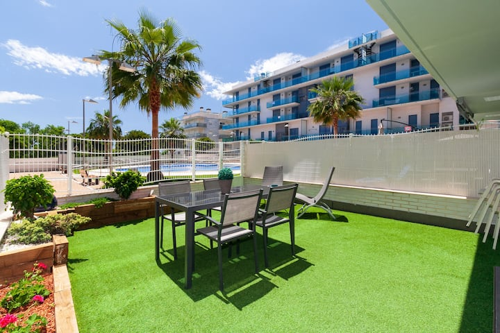 Great Duplex with terrace near the beach · UHC MAR AUGUSTA 324