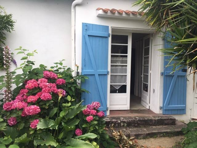 Chambre bucolique à 2 mn de Biarritz
