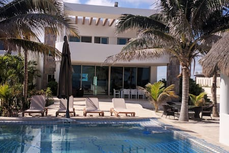 Modern and well Equipped Beach Residence - Chicxulub Puerto - Haus