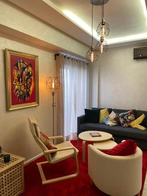 Très jolie appartement au Parc Mohammedia