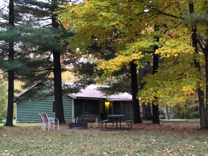 Kishauwau's Starved Rock Area Cabins - Family Cabin Sleeps 6 (Illini cabin), No animals allowed