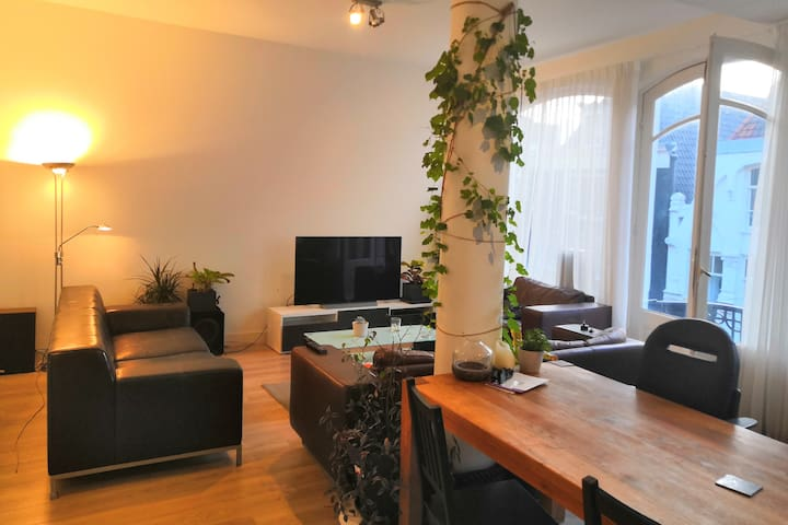 Large, modern, private room in central Amsterdam.