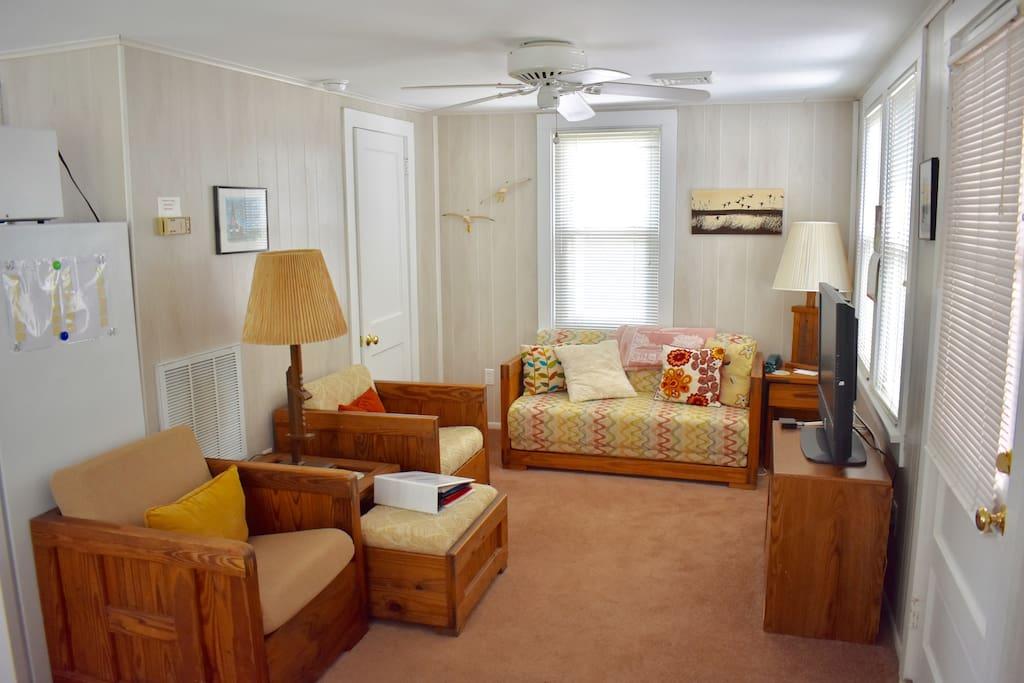 Living Room with Double Sleeper Sofa