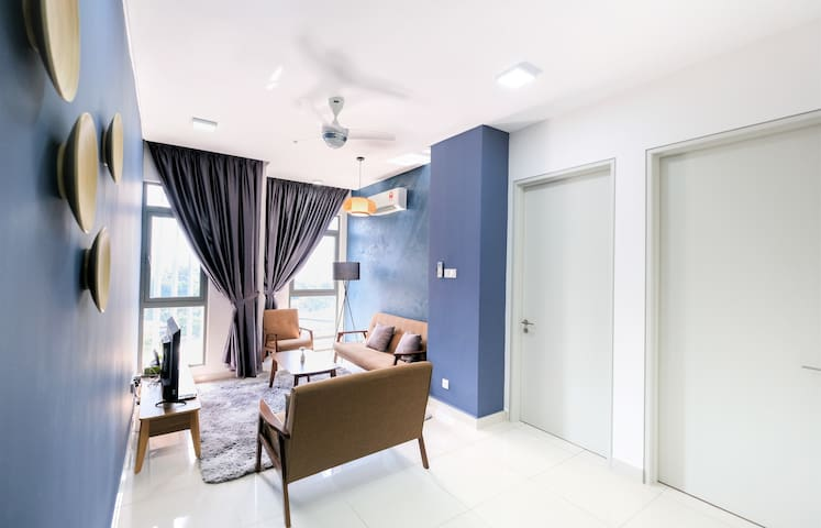 Vivo#7: 2BR/6pax - near Sunway, Mid Valley, PJ