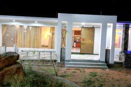 Isha farm stay--an eco friendly  modern house