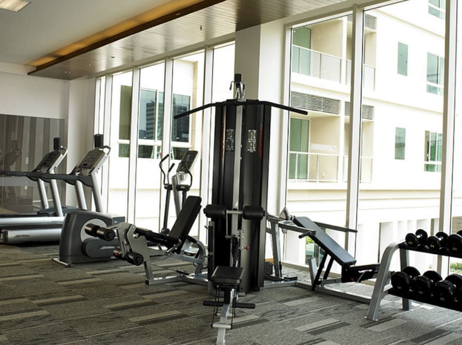 State of the art gym equipment.