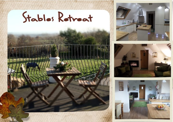 Entire Barn - Stables Retreat with Fantastic Views