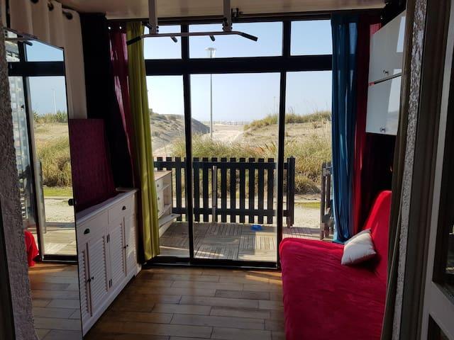 Studio au calme 1 chambre à 50m de la plage