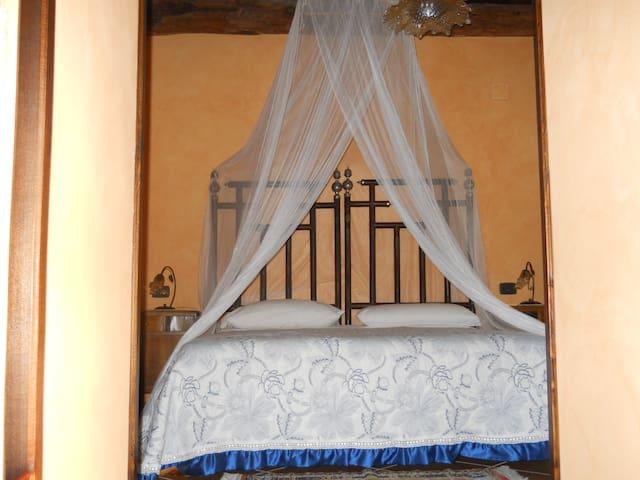 B&B Casale San Martino Camera Doppia/Tripla - Laureana Cilento - 家庭式旅館