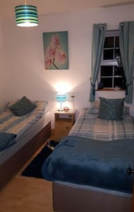 Cosy twin room - Ballinlough
