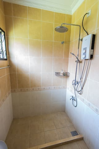 Attached Master Bedroom Toilet Fitted With Water Heater
