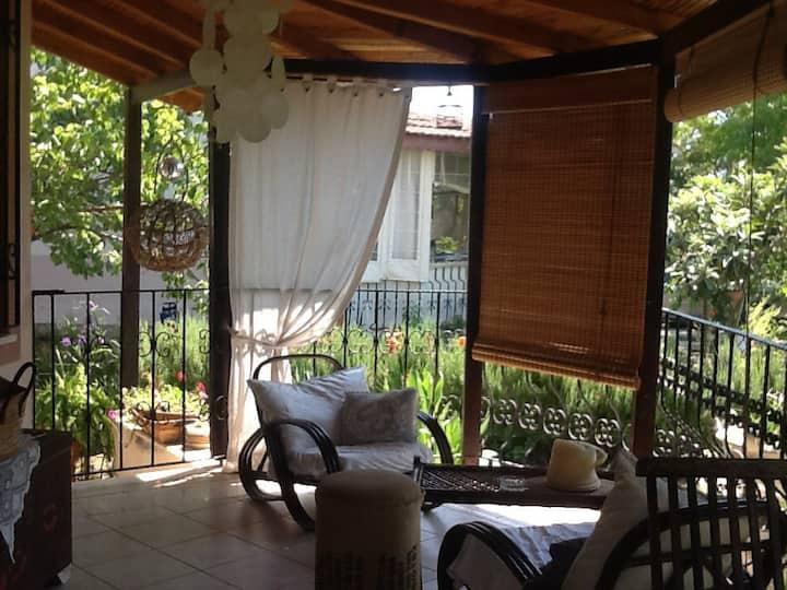 Fethiyede villa da kiralık  oda