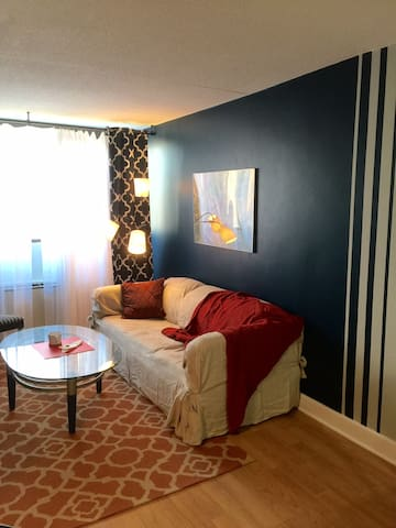 "Downtown ""Blue Nest"" apartment - Stamford - Daire"