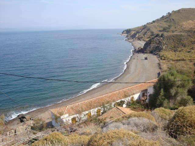 Golden Beach Eftalou. Right on the beach!