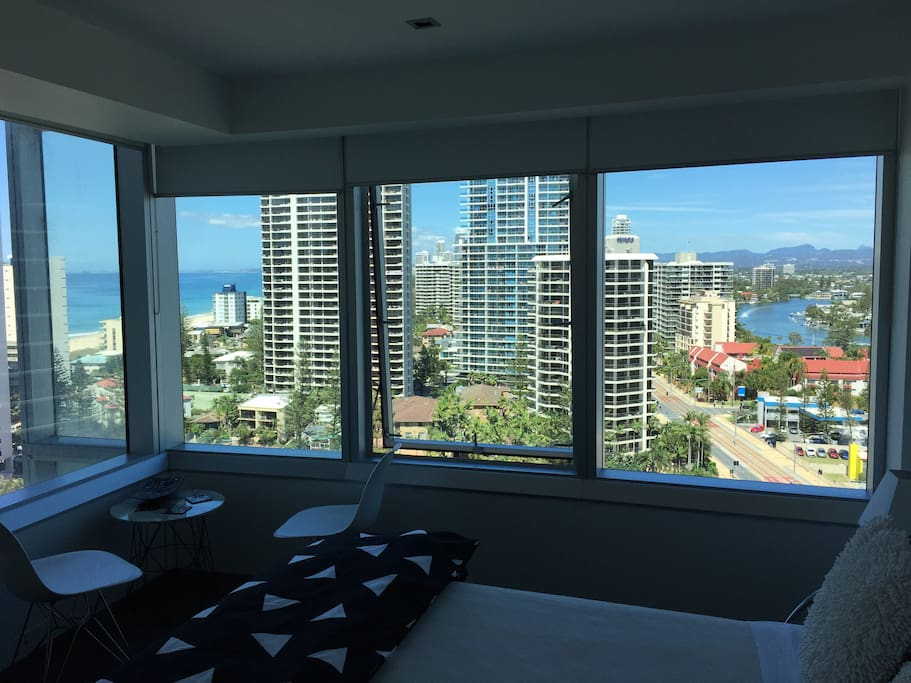Wide 180% views from master bedroom, dining area, day room etc