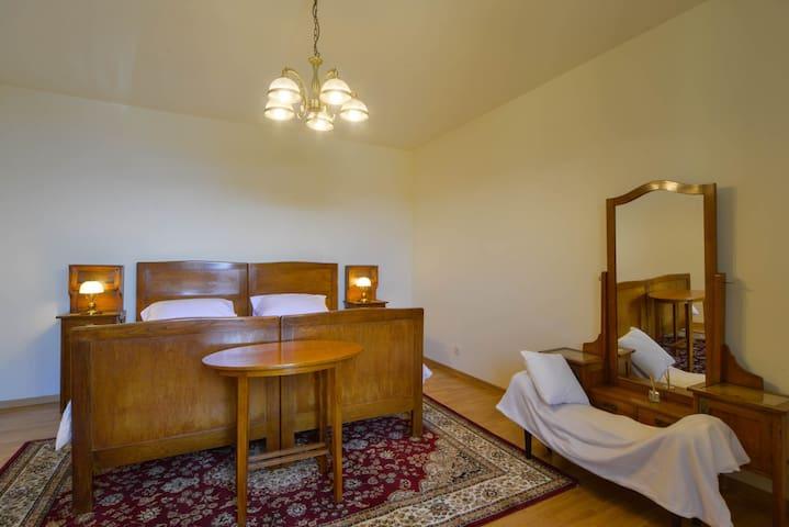 Original restavrirani secesijske soba koja se je nakazila u kuci