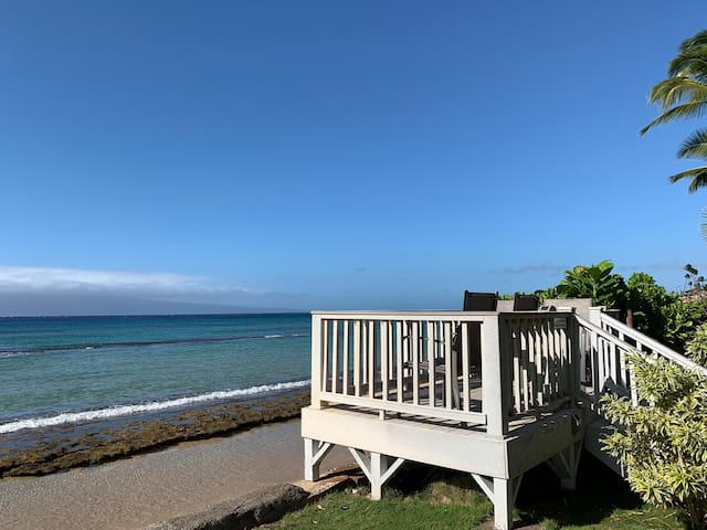 Maui Sands Ocean front 1 bedroom next to Kaanapali