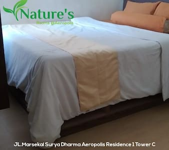 Nature's rooms  Apartemen aeropolis tower c