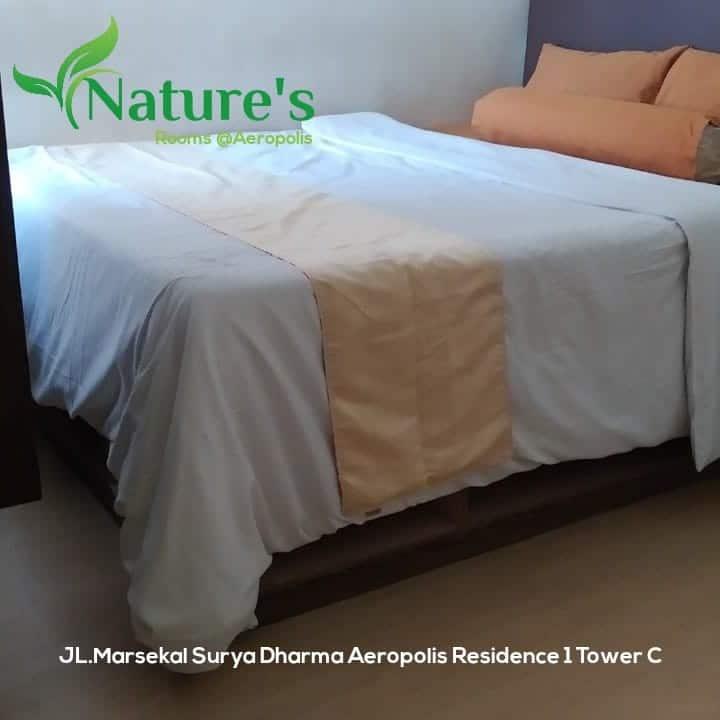 Nature's rooms  Apartemen aeropolis tower c