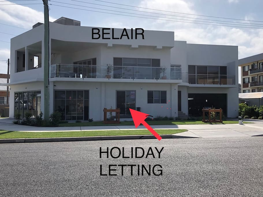 BELAIR. Apartment downstairs