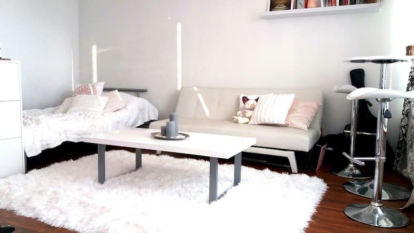 Tyylikäs ja siisti keskusta-yksiö - Jyväskylä - Appartement